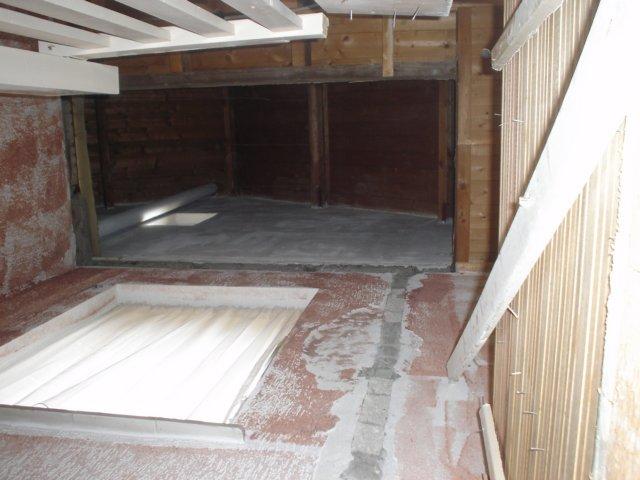 Trapgat maken voor plaatsing vaste trap naar zolder for Van vlizo naar vaste trap